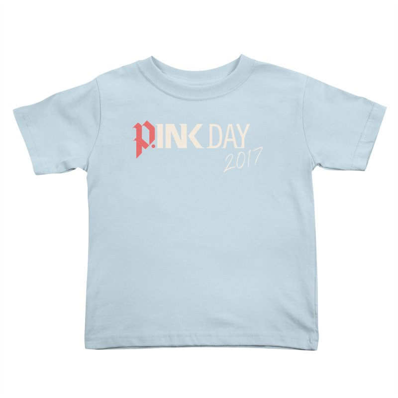 P.ink Day 2017 Logo Gear — Color Mix Kids Toddler T-Shirt by P.INK—don't let breast cancer leave the last mark