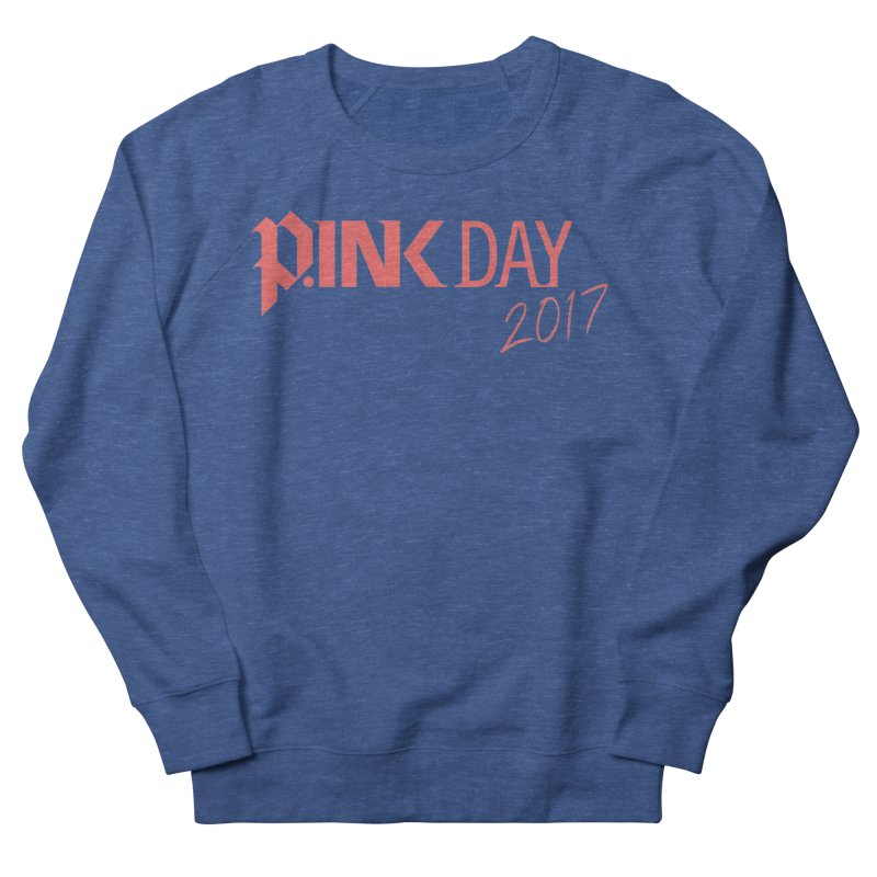 P.ink Day 2017 Logo Gear — Classic Mix Men's Sweatshirt by P.INK—don't let breast cancer leave the last mark