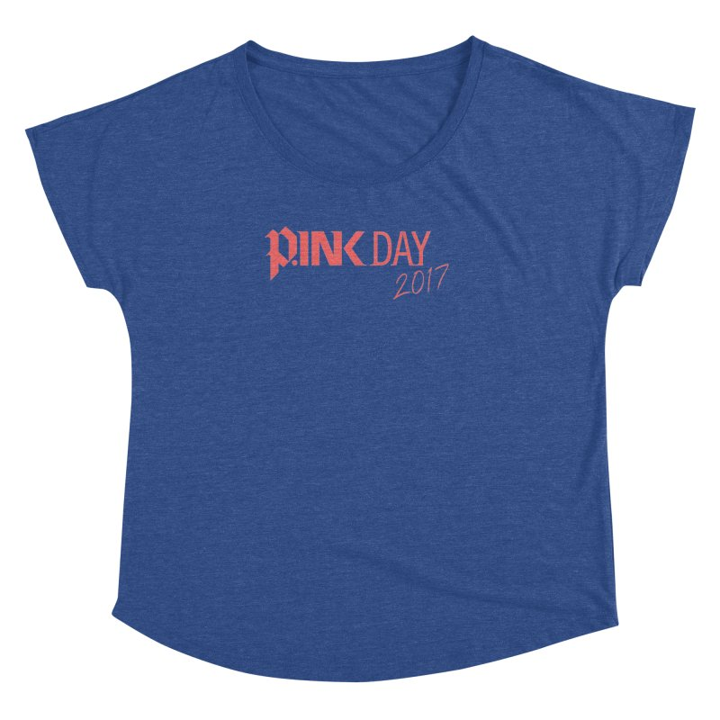 P.ink Day 2017 Logo Gear — Classic Mix Women's Dolman by P.INK—don't let breast cancer leave the last mark