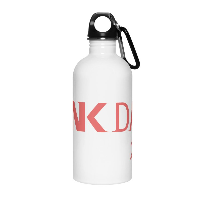 P.ink Day 2017 Logo Gear — Classic Mix Accessories Water Bottle by P.INK—don't let breast cancer leave the last mark