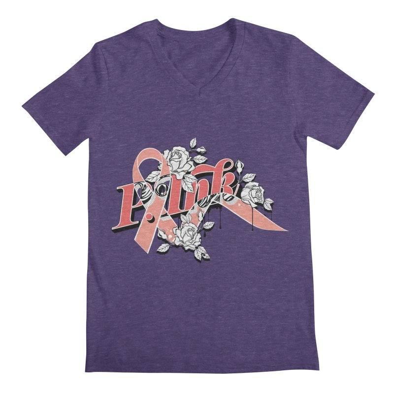 2017 P.ink Limited Edition Men's V-Neck by P.INK—don't let breast cancer leave the last mark