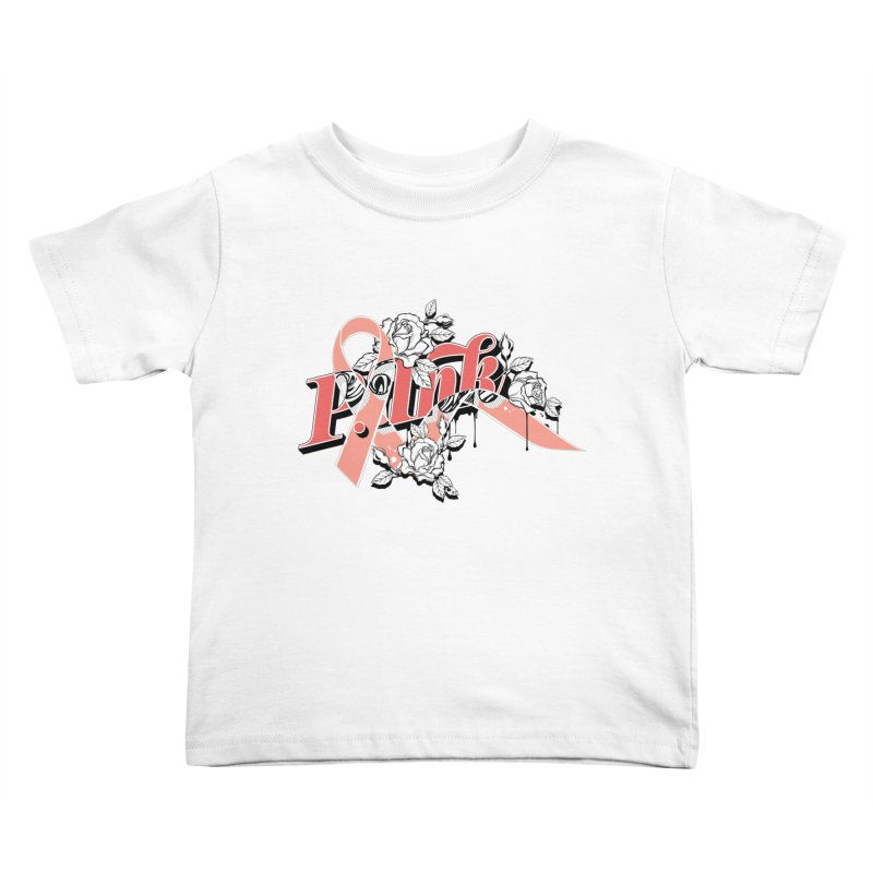 2017 P.ink Limited Edition Kids Toddler T-Shirt by P.INK—don't let breast cancer leave the last mark