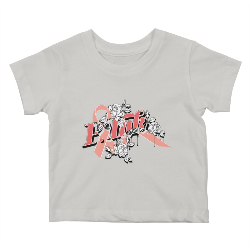 2017 P.ink Limited Edition Kids Baby T-Shirt by P.INK—don't let breast cancer leave the last mark