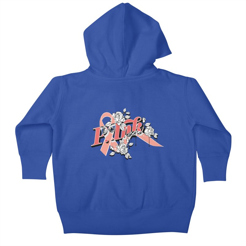 2017 P.ink Limited Edition Kids Baby Zip-Up Hoody by P.INK—don't let breast cancer leave the last mark