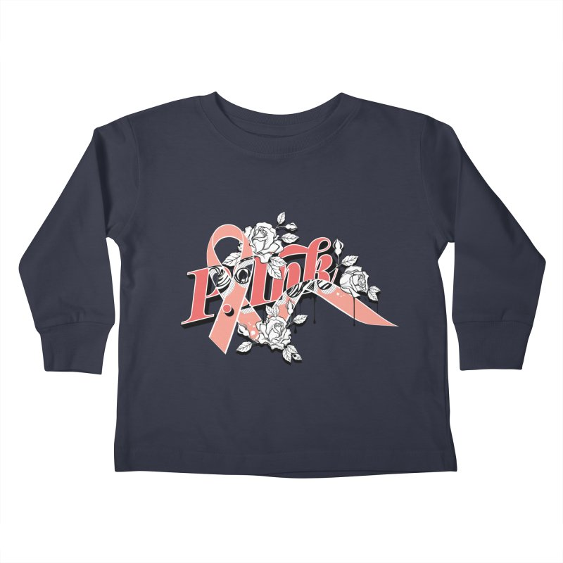 2017 P.ink Limited Edition Kids Toddler Longsleeve T-Shirt by P.INK—don't let breast cancer leave the last mark