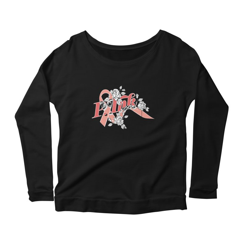 2017 P.ink Limited Edition Women's Longsleeve Scoopneck  by P.INK—don't let breast cancer leave the last mark