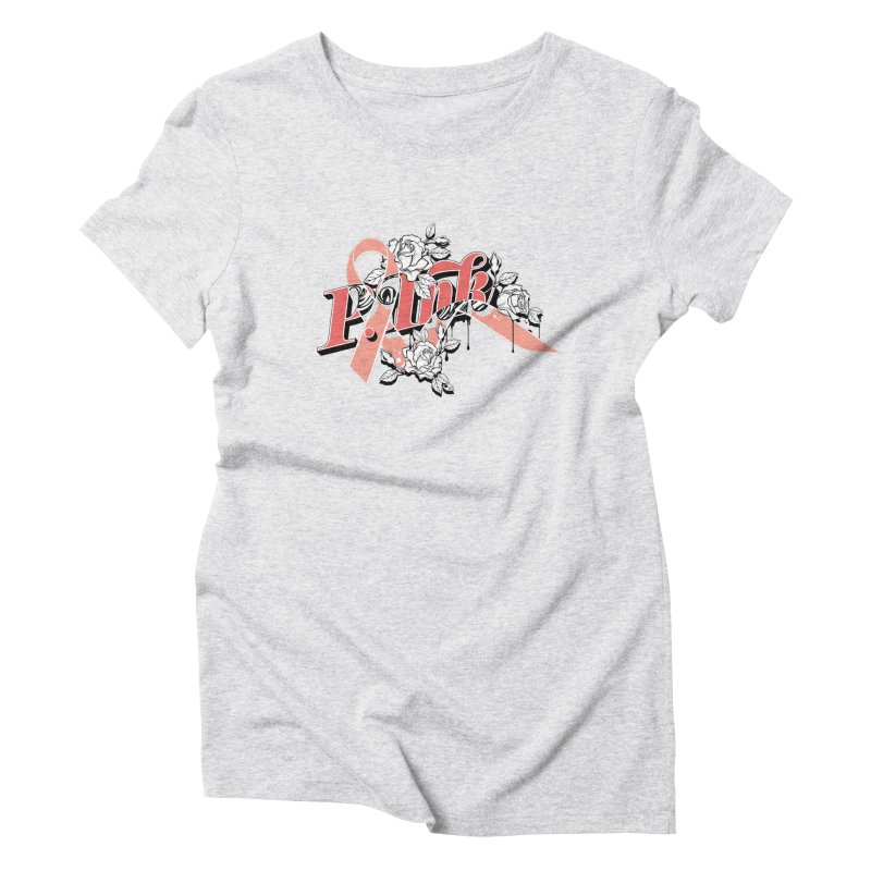 2017 P.ink Limited Edition Women's Triblend T-Shirt by P.INK—don't let breast cancer leave the last mark