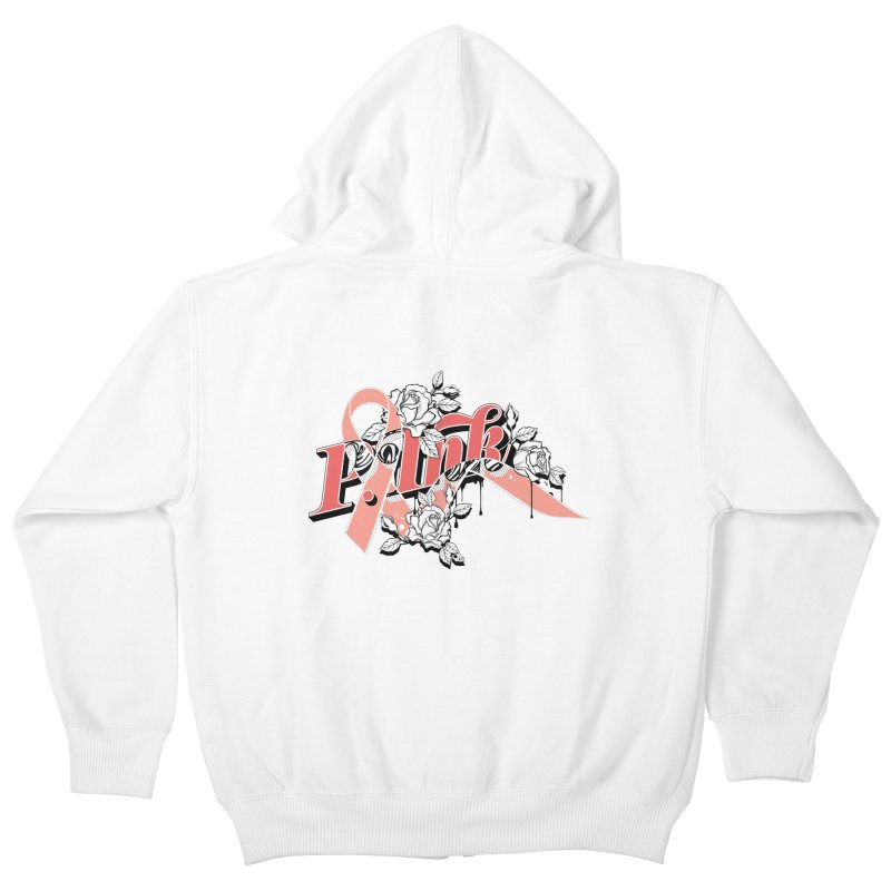 2017 P.ink Limited Edition Kids Zip-Up Hoody by P.INK—don't let breast cancer leave the last mark