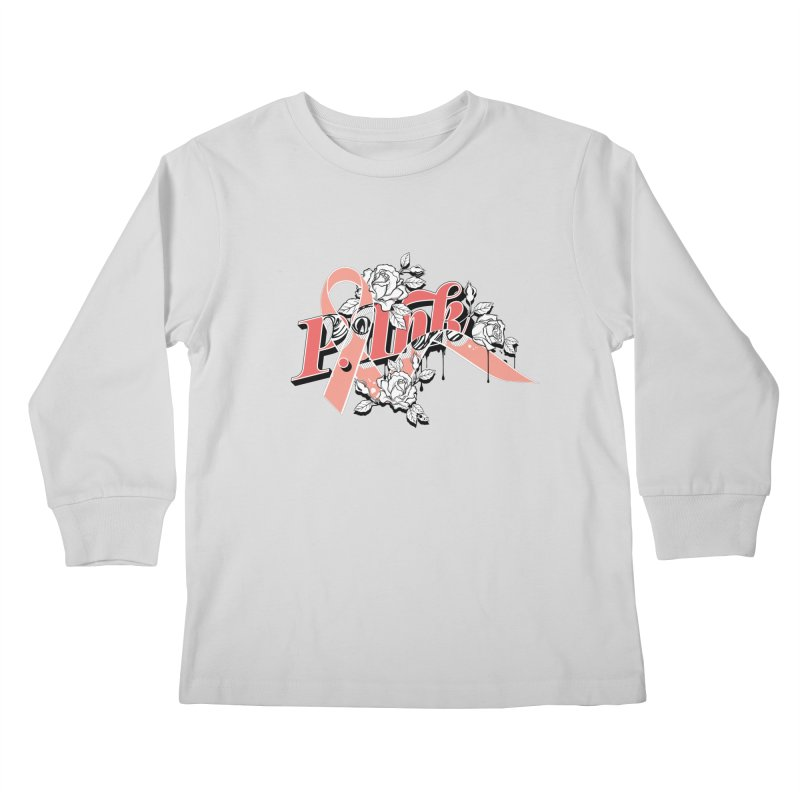 2017 P.ink Limited Edition Kids Longsleeve T-Shirt by P.INK—don't let breast cancer leave the last mark