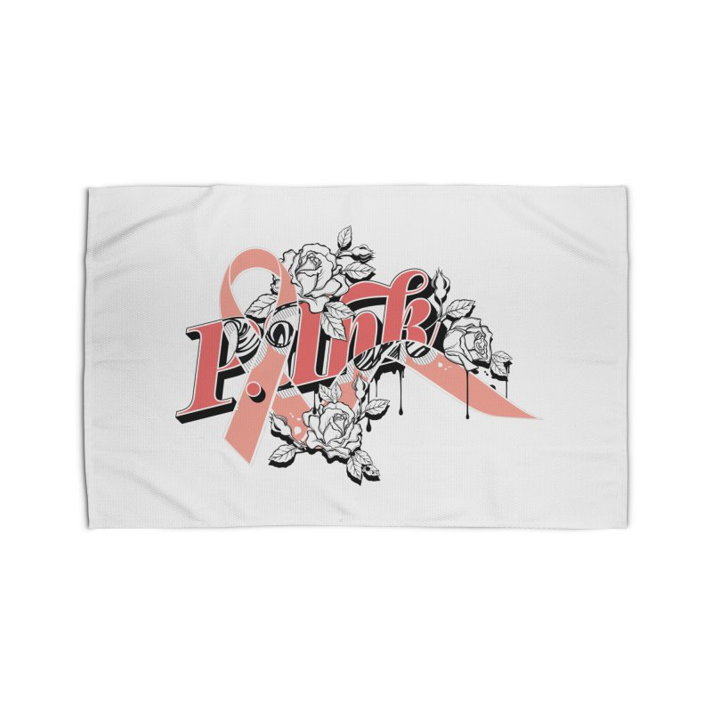 2017 P.ink Limited Edition Home Rug by P.INK—don't let breast cancer leave the last mark