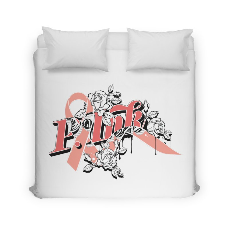2017 P.ink Limited Edition Home Duvet by P.INK—don't let breast cancer leave the last mark