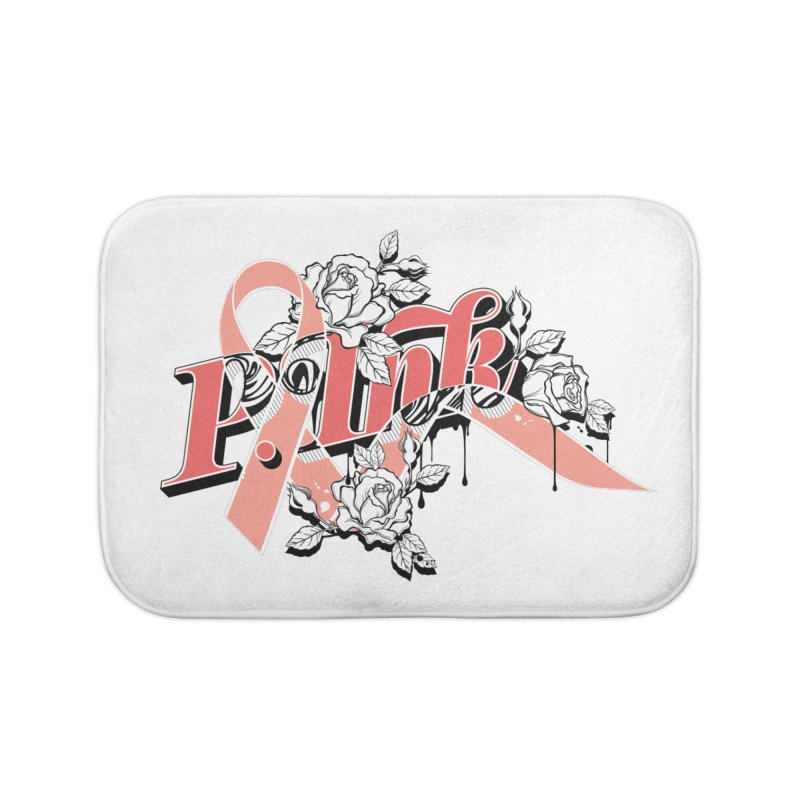 2017 P.ink Limited Edition Home Bath Mat by P.INK—don't let breast cancer leave the last mark