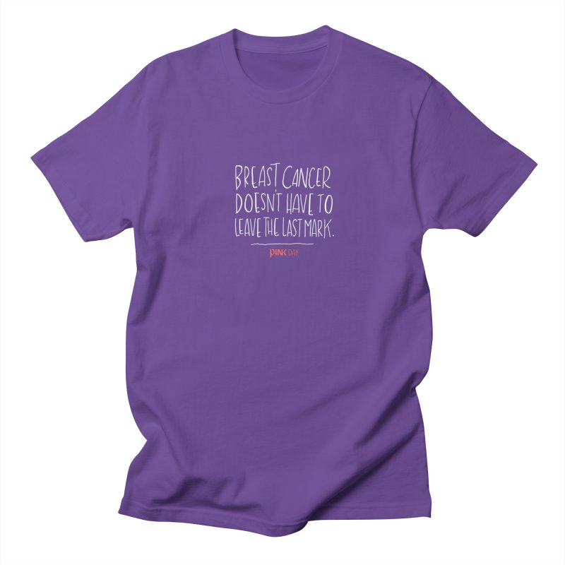 P.ink Day - A Scar You Choose / Alt - Permanent Collection Men's Regular T-Shirt by P.INK—don't let breast cancer leave the last mark