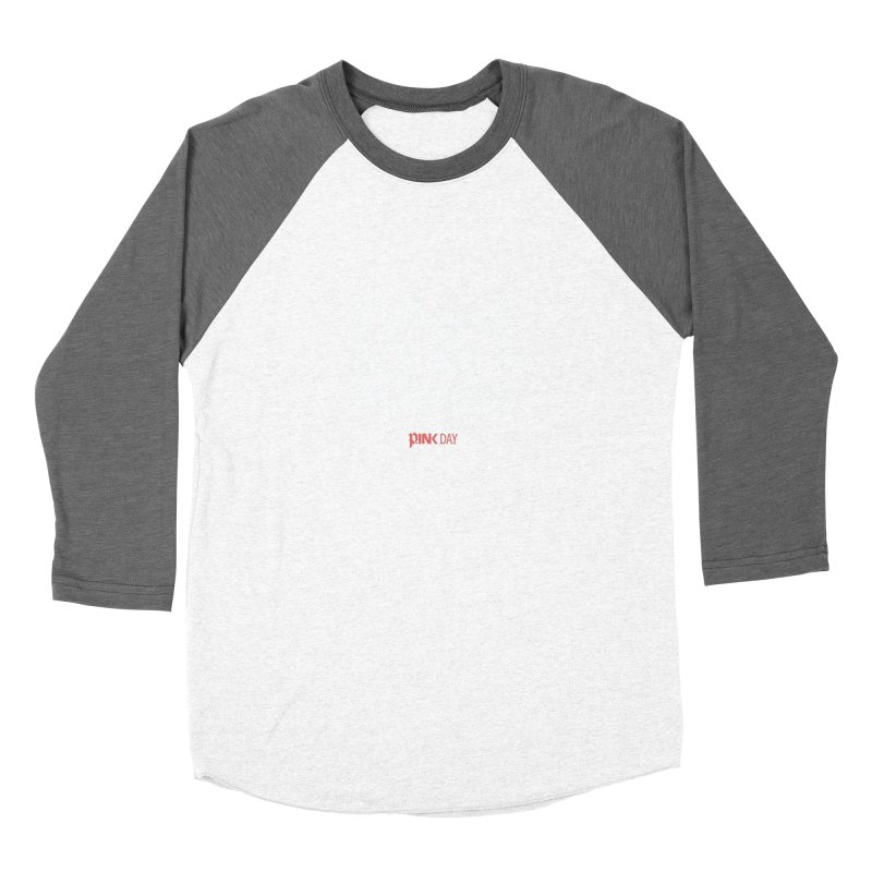 P.ink Day - A Scar You Choose / Alt - Permanent Collection Men's Baseball Triblend Longsleeve T-Shirt by P.INK—don't let breast cancer leave the last mark