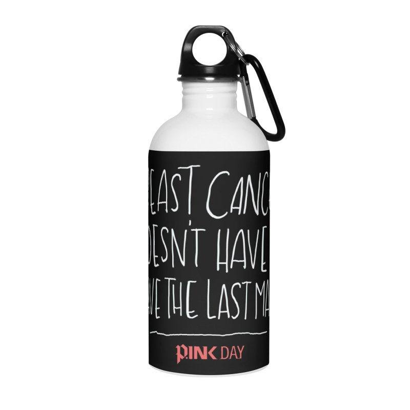 P.ink Day - A Scar You Choose / Alt - Permanent Collection Accessories Water Bottle by P.INK—don't let breast cancer leave the last mark