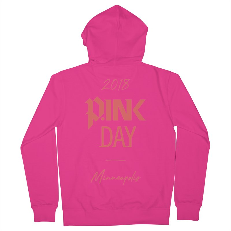 P.Ink 2018 Minneapolis Men's French Terry Zip-Up Hoody by P.INK—don't let breast cancer leave the last mark