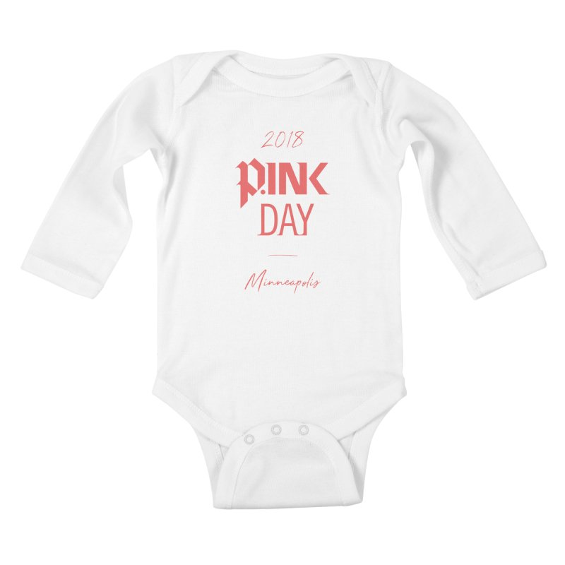 P.Ink 2018 Minneapolis Kids Baby Longsleeve Bodysuit by P.INK—don't let breast cancer leave the last mark