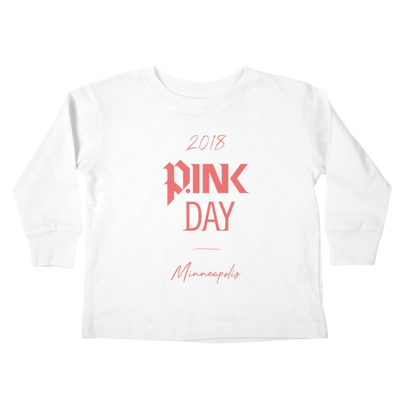 P.Ink 2018 Minneapolis Kids Toddler Longsleeve T-Shirt by P.INK—don't let breast cancer leave the last mark
