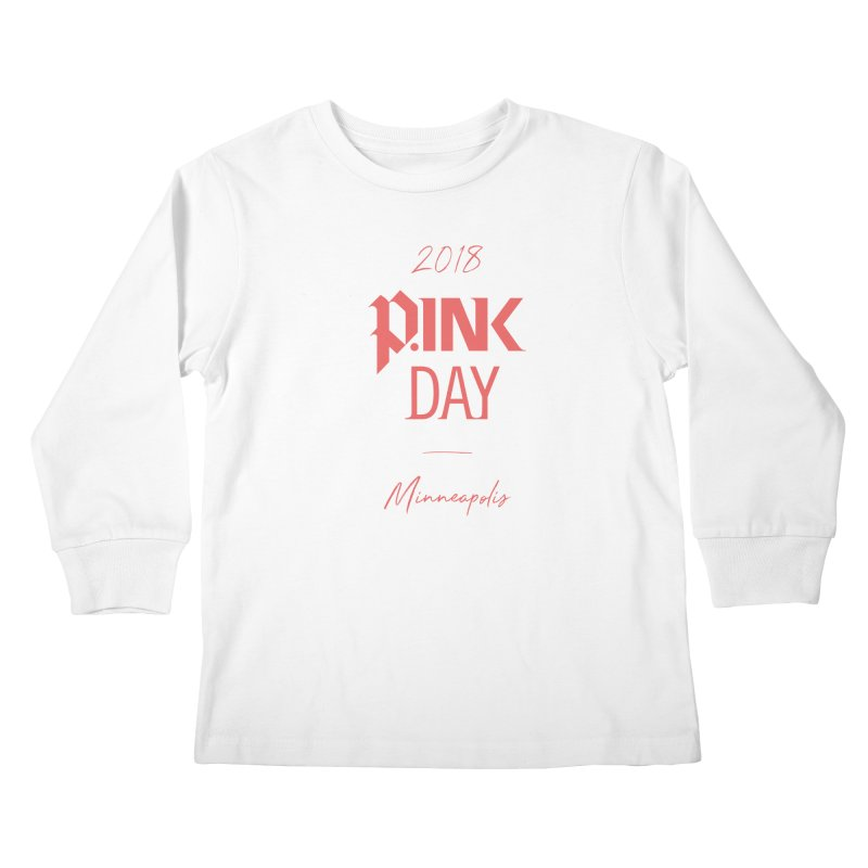 P.Ink 2018 Minneapolis Kids Longsleeve T-Shirt by P.INK—don't let breast cancer leave the last mark