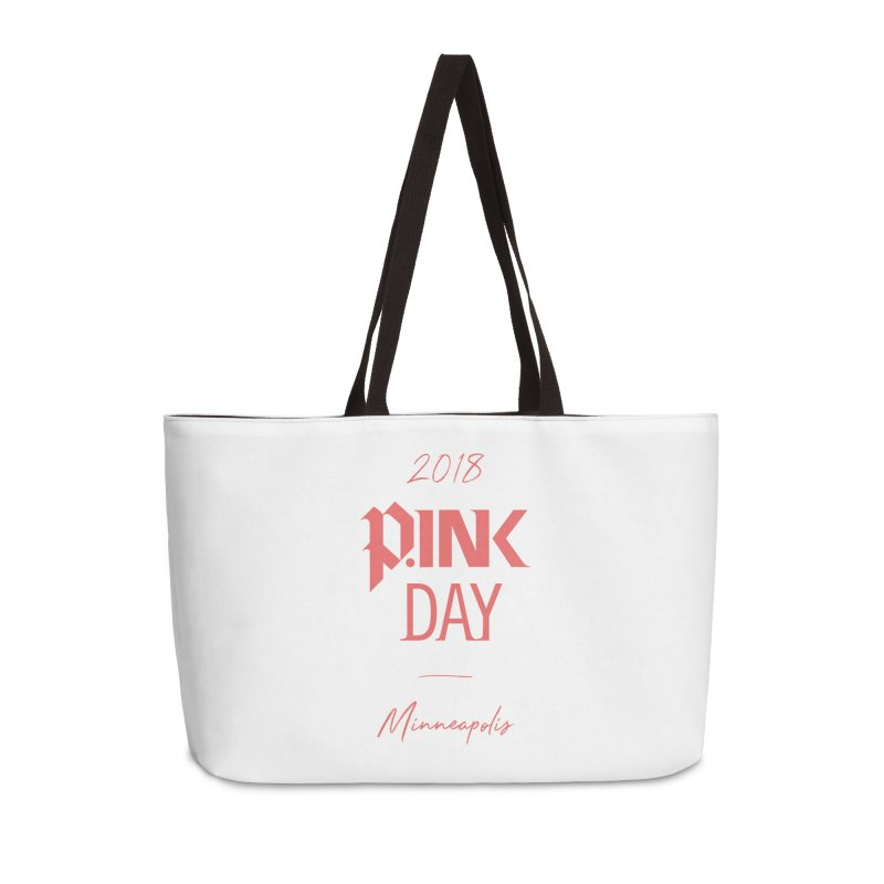 P.Ink 2018 Minneapolis Accessories Weekender Bag Bag by P.INK—don't let breast cancer leave the last mark