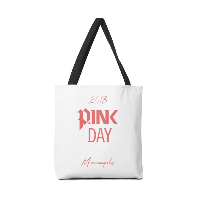 P.Ink 2018 Minneapolis Accessories Tote Bag Bag by P.INK—don't let breast cancer leave the last mark