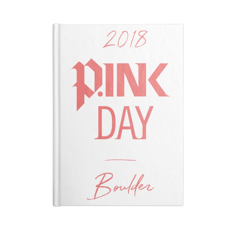 P.Ink 2018 Boulder Accessories Lined Journal Notebook by P.INK—don't let breast cancer leave the last mark
