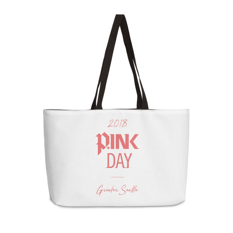P.Ink 2018 Seattle Accessories Weekender Bag Bag by P.INK—don't let breast cancer leave the last mark