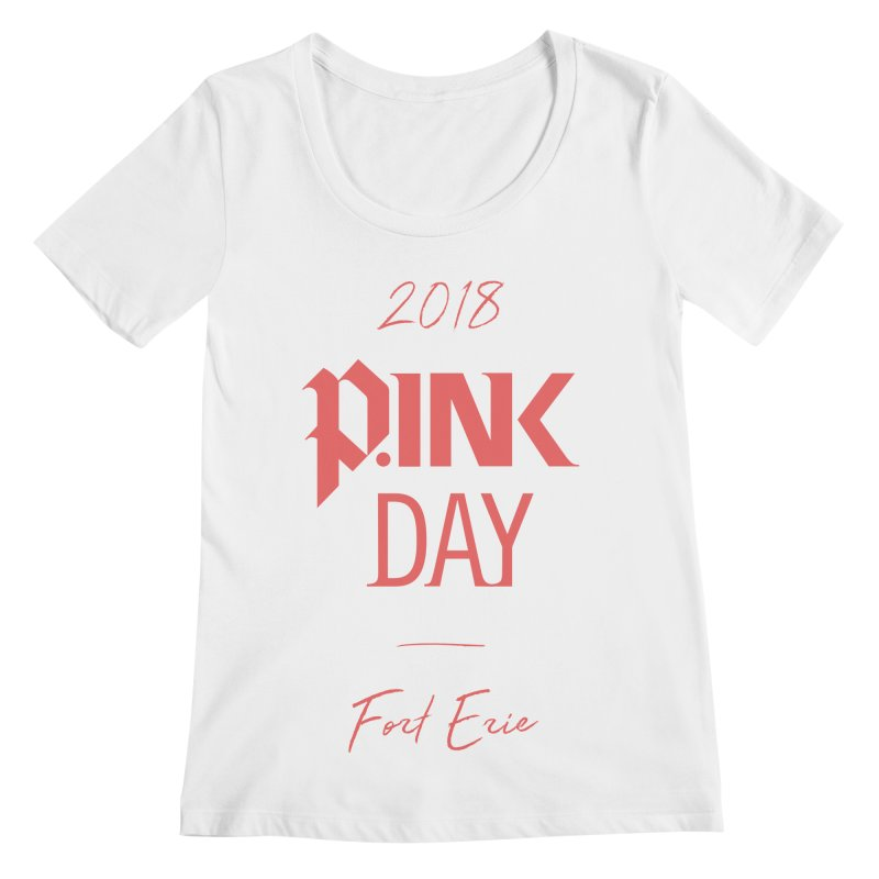 P.Ink 2018 Fort Erie Women's Regular Scoop Neck by P.INK—don't let breast cancer leave the last mark