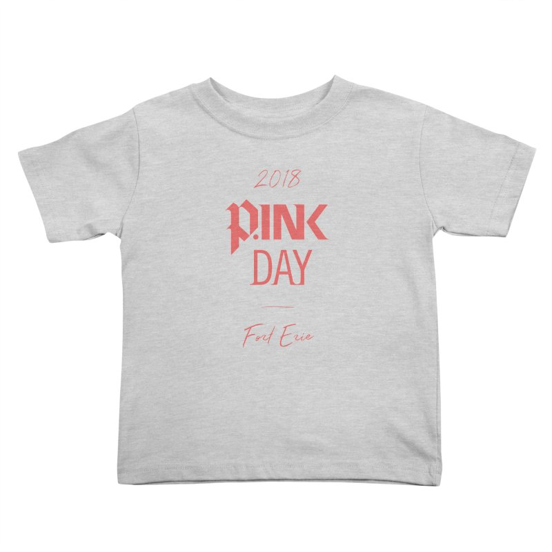 P.Ink 2018 Fort Erie Kids Toddler T-Shirt by P.INK—don't let breast cancer leave the last mark