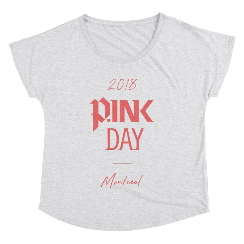 P.Ink 2018 Montreal Women's Dolman Scoop Neck by P.INK—don't let breast cancer leave the last mark