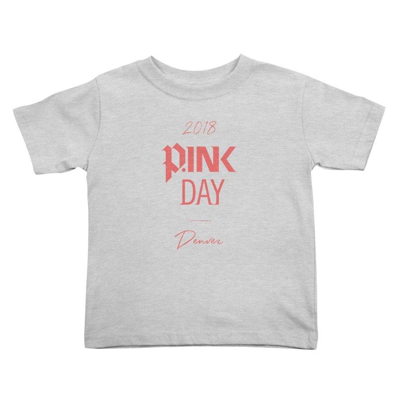 P.Ink 2018 Denver Kids Toddler T-Shirt by P.INK—don't let breast cancer leave the last mark
