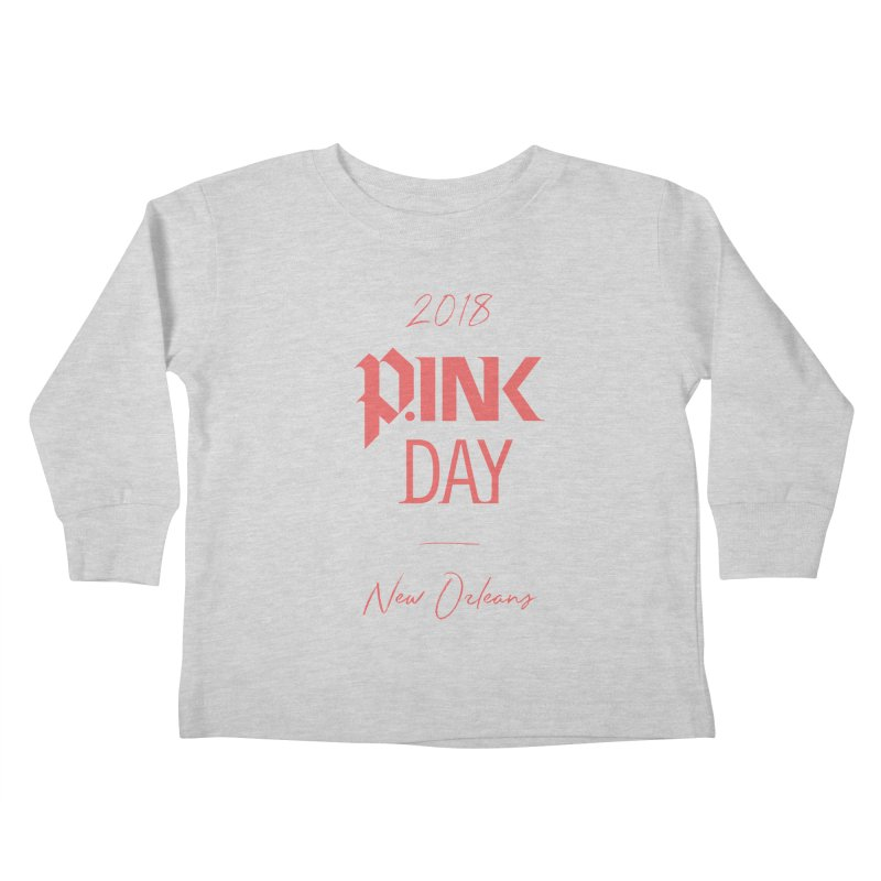 P.Ink 2018 New Orleans Kids Toddler Longsleeve T-Shirt by P.INK—don't let breast cancer leave the last mark