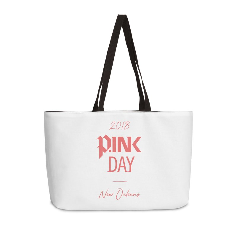 P.Ink 2018 New Orleans Accessories Weekender Bag Bag by P.INK—don't let breast cancer leave the last mark