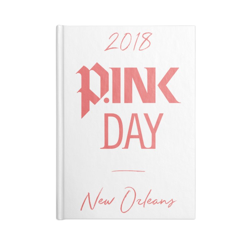 P.Ink 2018 New Orleans Accessories Lined Journal Notebook by P.INK—don't let breast cancer leave the last mark