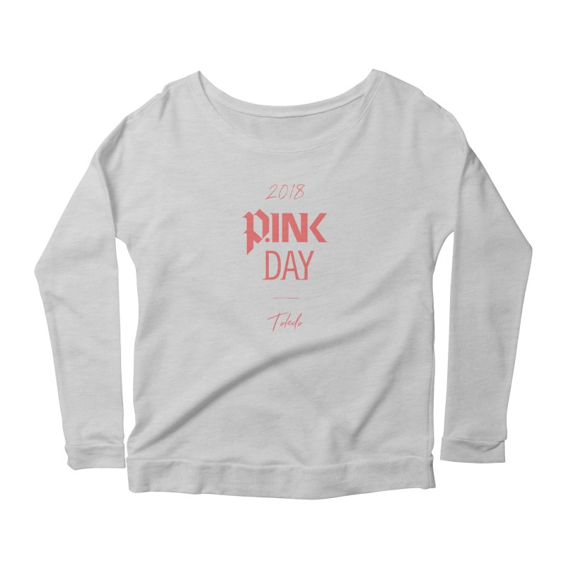 P.Ink 2018 Toledo Women's Scoop Neck Longsleeve T-Shirt by P.INK—don't let breast cancer leave the last mark