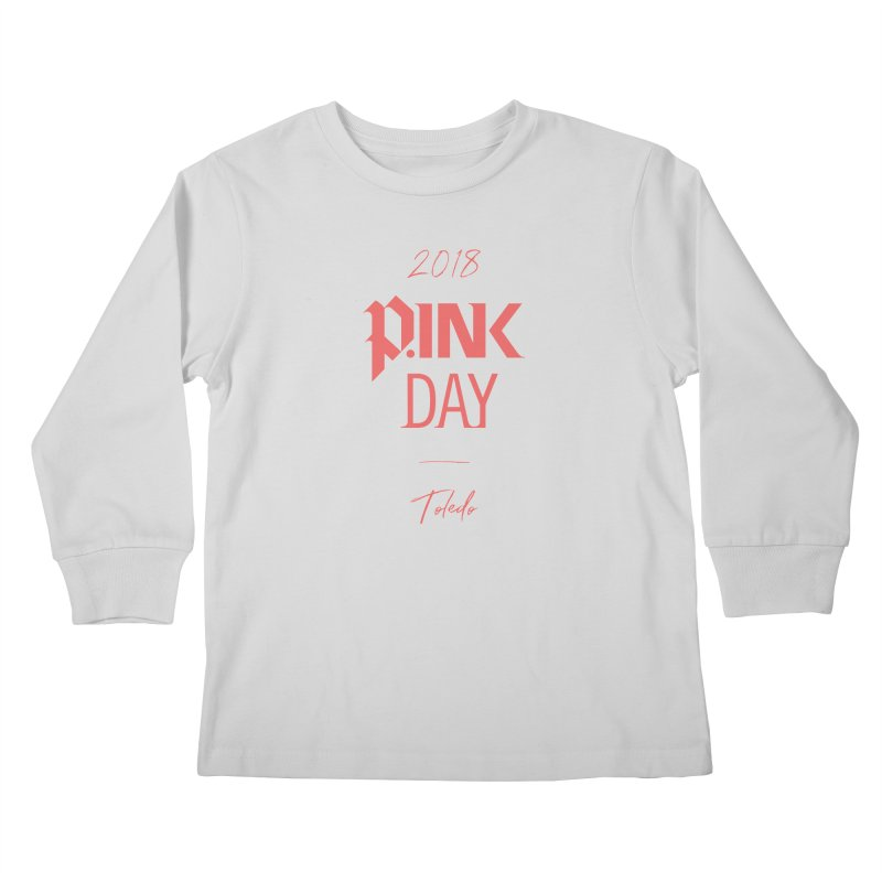 P.Ink 2018 Toledo Kids Longsleeve T-Shirt by P.INK—don't let breast cancer leave the last mark