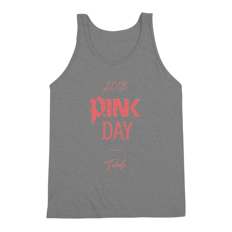 P.Ink 2018 Toledo Men's Triblend Tank by P.INK—don't let breast cancer leave the last mark