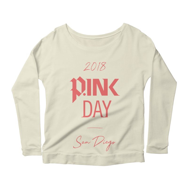 P.Ink 2018 San Diego Women's Scoop Neck Longsleeve T-Shirt by P.INK—don't let breast cancer leave the last mark