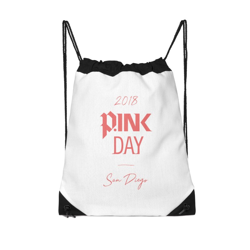 P.Ink 2018 San Diego Accessories Drawstring Bag Bag by P.INK—don't let breast cancer leave the last mark