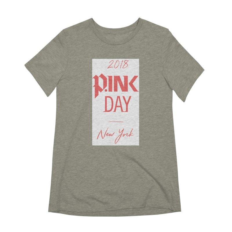 2018 P.Ink New York Women's Extra Soft T-Shirt by P.INK—don't let breast cancer leave the last mark