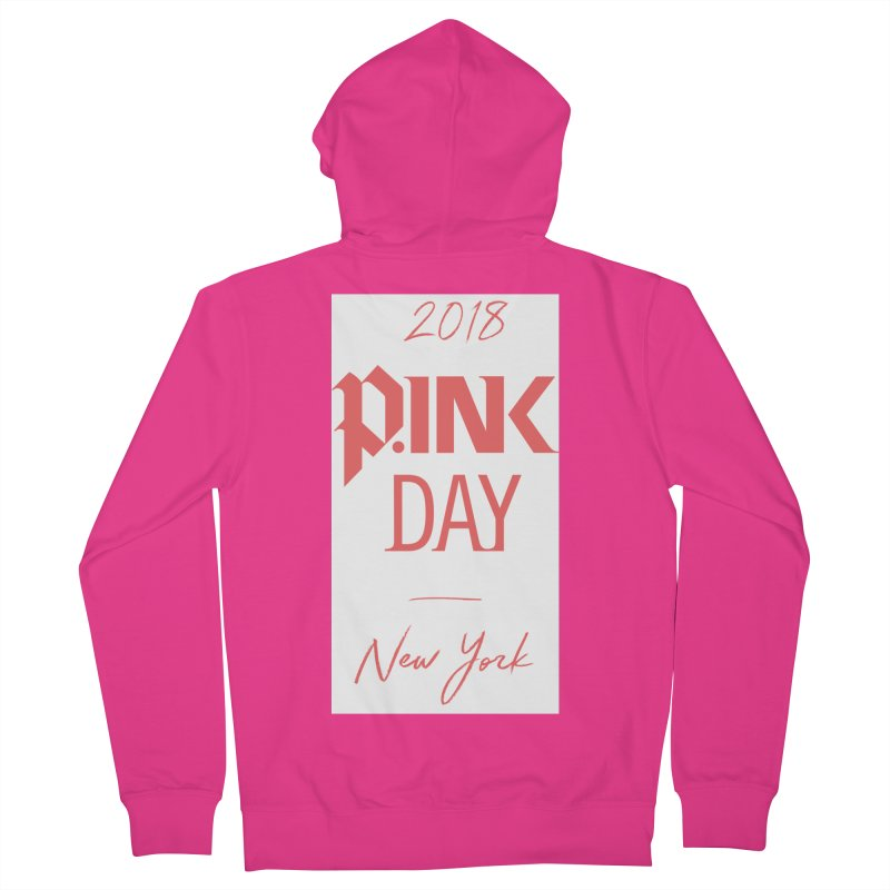 2018 P.Ink New York Men's French Terry Zip-Up Hoody by P.INK—don't let breast cancer leave the last mark