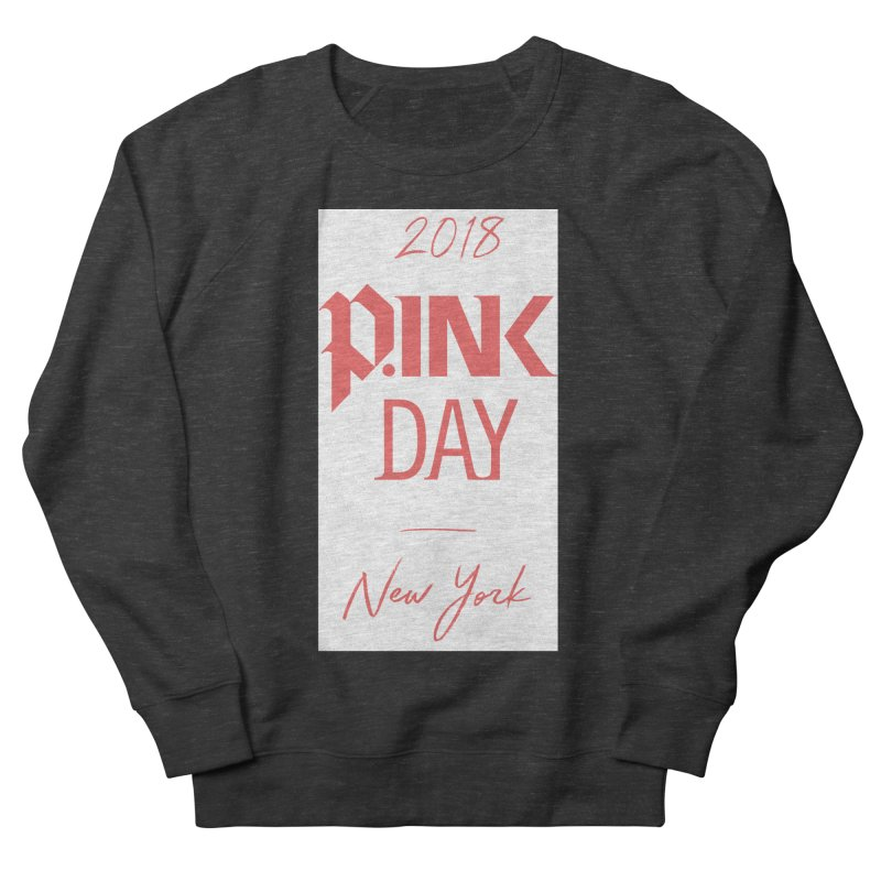 2018 P.Ink New York Women's French Terry Sweatshirt by P.INK—don't let breast cancer leave the last mark