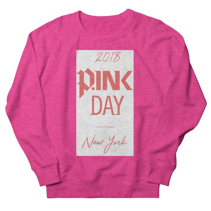 2018 P.Ink New York Men's French Terry Sweatshirt by P.INK—don't let breast cancer leave the last mark
