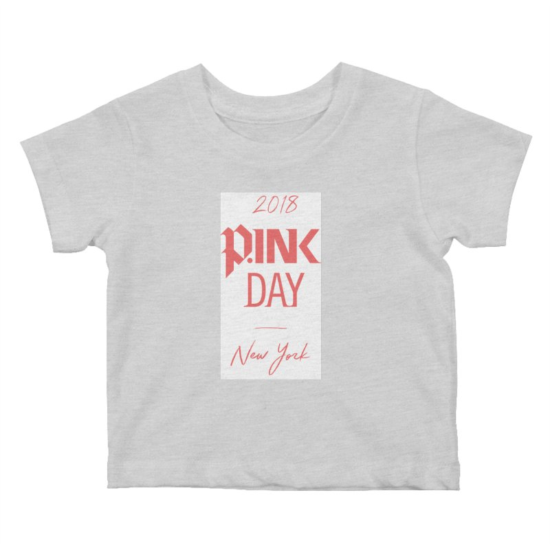 2018 P.Ink New York Kids Baby T-Shirt by P.INK—don't let breast cancer leave the last mark