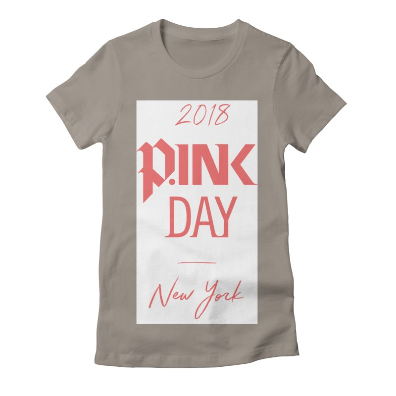 2018 P.Ink New York Women's Fitted T-Shirt by P.INK—don't let breast cancer leave the last mark