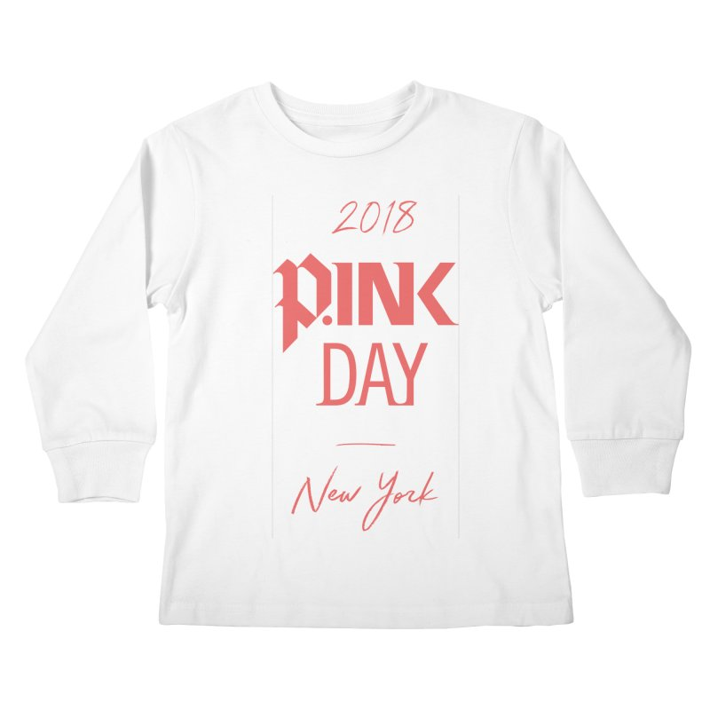 2018 P.Ink New York Kids Longsleeve T-Shirt by P.INK—don't let breast cancer leave the last mark