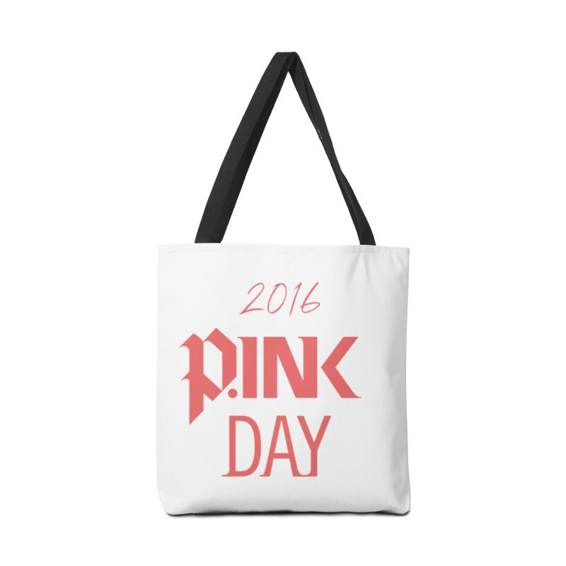 P.ink Day 2016 Red Logo Wear Accessories Bag by P.INK—don't let breast cancer leave the last mark
