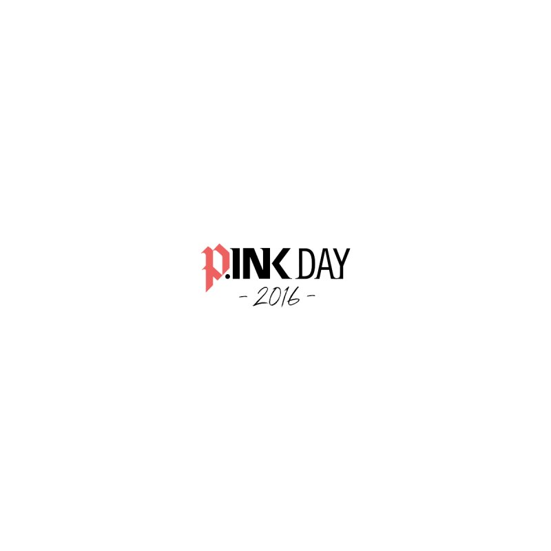 P.ink Day 2016 Red+Black / Alt Logo Wear None  by P.INK—don't let breast cancer leave the last mark