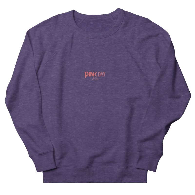 P.ink Day 2016 Red / Alt Logo Wear Women's Sweatshirt by P.INK—don't let breast cancer leave the last mark