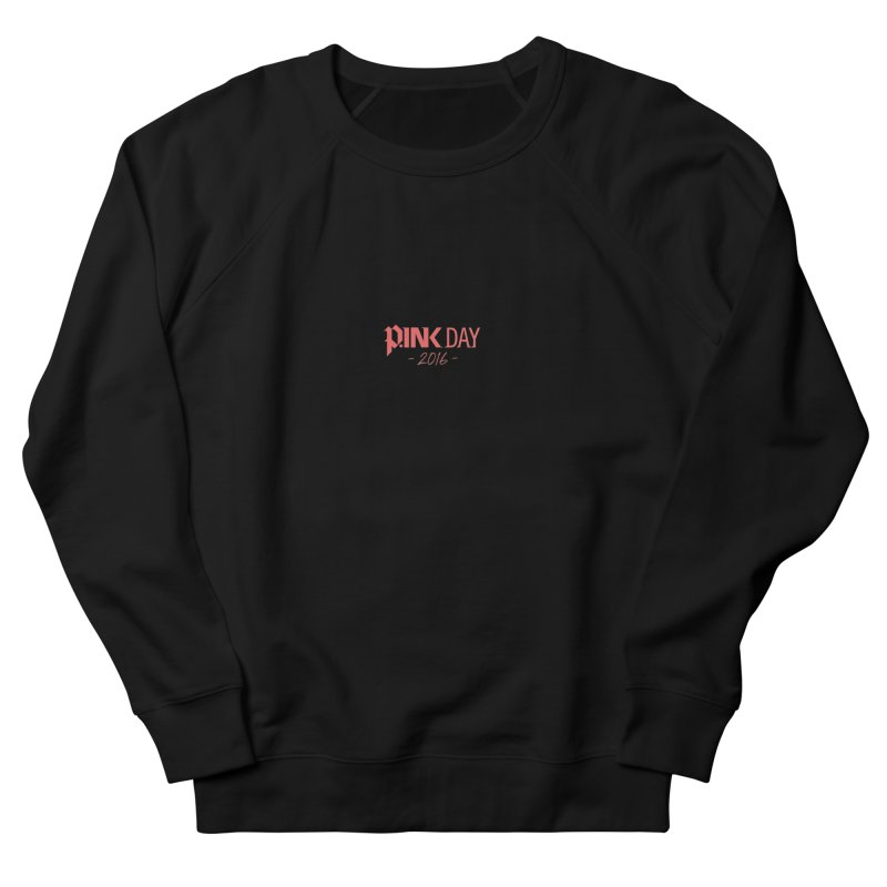 P.ink Day 2016 Red / Alt Logo Wear Men's Sweatshirt by P.INK—don't let breast cancer leave the last mark